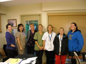Community Health Workers from Gibsons, BC