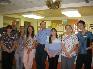 Powell River Residential Care staff