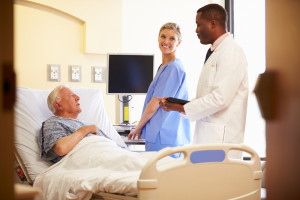 Care team at bedside