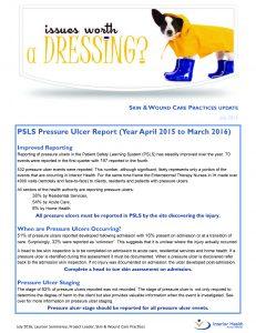 Skin & Wound Care Practices Update - Interior Health's newsletter