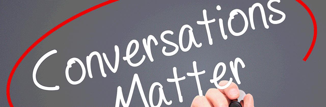 Conversations Matter-article